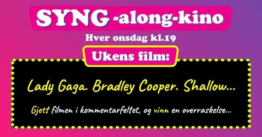 Eventbilde: SYNG-along-kino