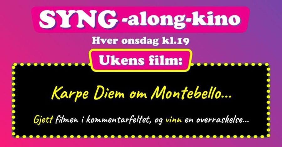 SYNG-along-kino hovedbilde