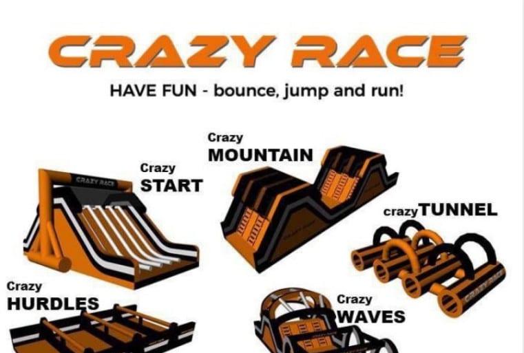 Crazy Race- Norges morsomste 5 km hovedbilde