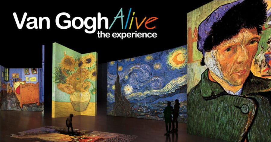 Van Gogh Alive – Åpningsfest hovedbilde