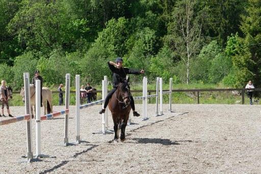 Ridekurs: Introduksjonskurs i bueskyting til hest 4. mai hovedbilde