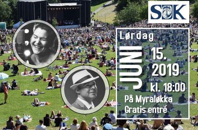 Gratis Sommerkonsert på Myraløkka med Sagene Janitsjarkorps hovedbilde