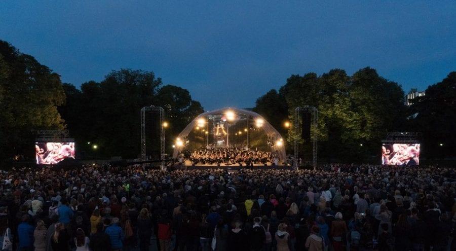 Festkonsert på Slottsplassen hovedbilde