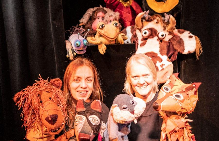 Sinnataggen vil ha ferie på Annes dukketeater i Frognerparken hovedbilde