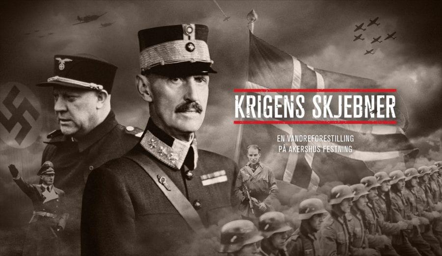 Krigens Skjebner -en vandreforestilling på Akershus Festning hovedbilde