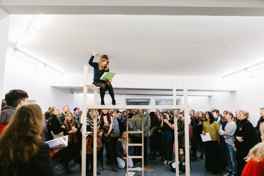 Eventbilde: Performance med Marthe Ramm Fortun