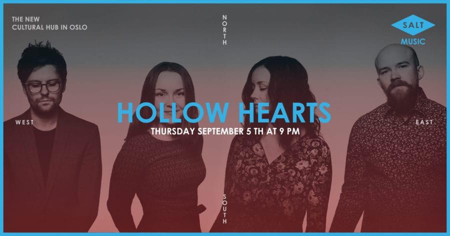 Hollow Hearts // SALT art & music hovedbilde