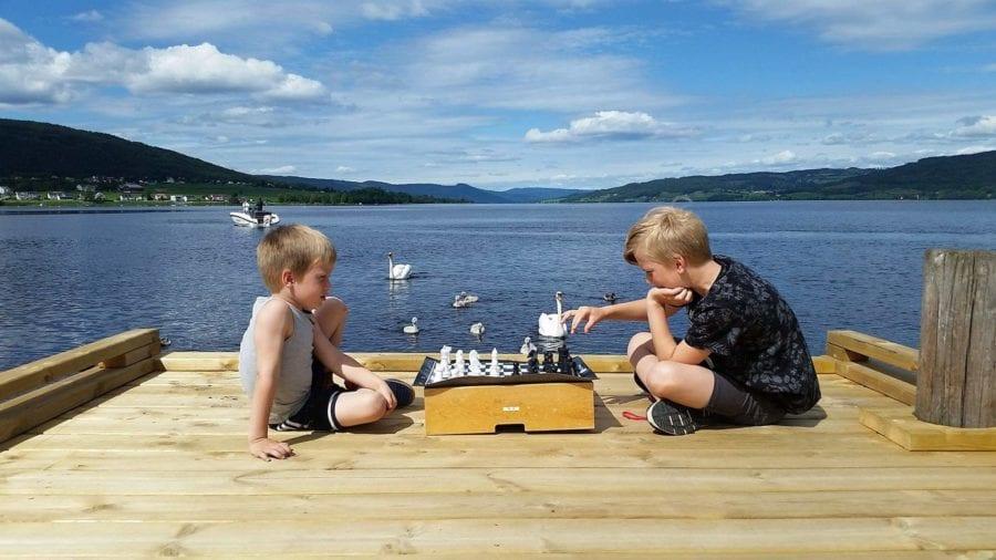 Eventbilde: Sjakkturnering på Hadeland Glassverk