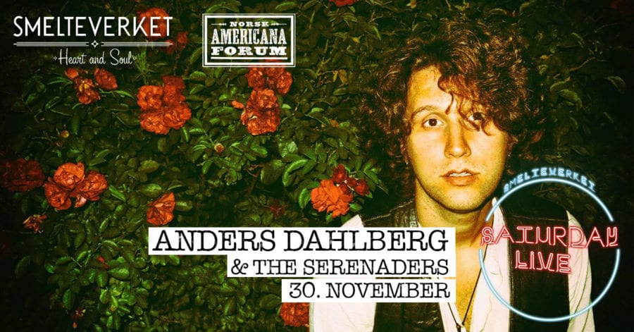Saturday Live: Anders Dahlberg & the Serenaders / Smelteverket hovedbilde