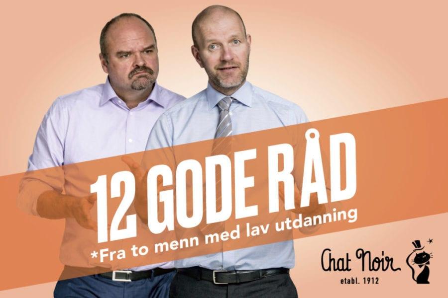 Atle Antonsen og Bård Tufte Johansen – 12 gode råd hovedbilde