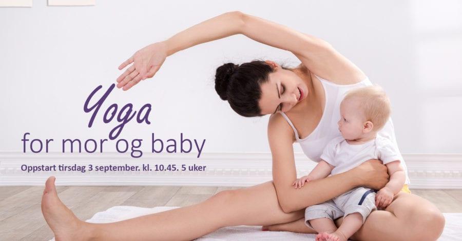 Yoga for mor og baby hovedbilde