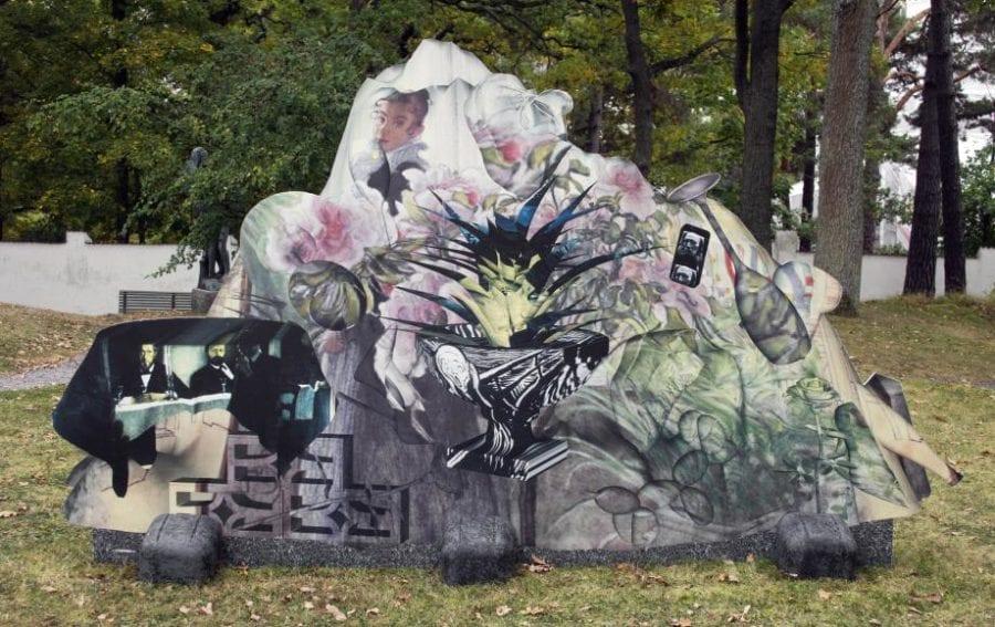 Utstillingsåpning / Mellom skog og digitale bilder hovedbilde