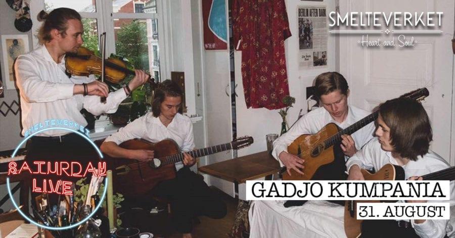 Saturday Live: Gadjo Kumpania / Smelteverket hovedbilde