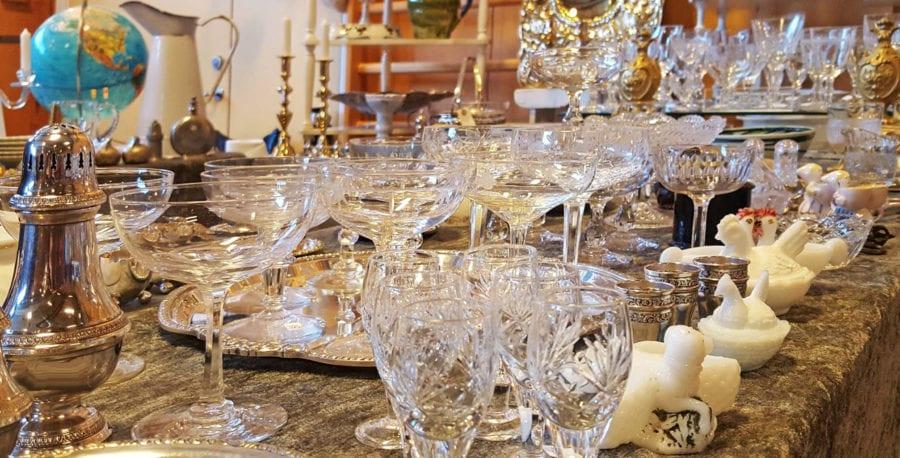 Retro antikk og samlemesse på Hadeland Glassverk hovedbilde