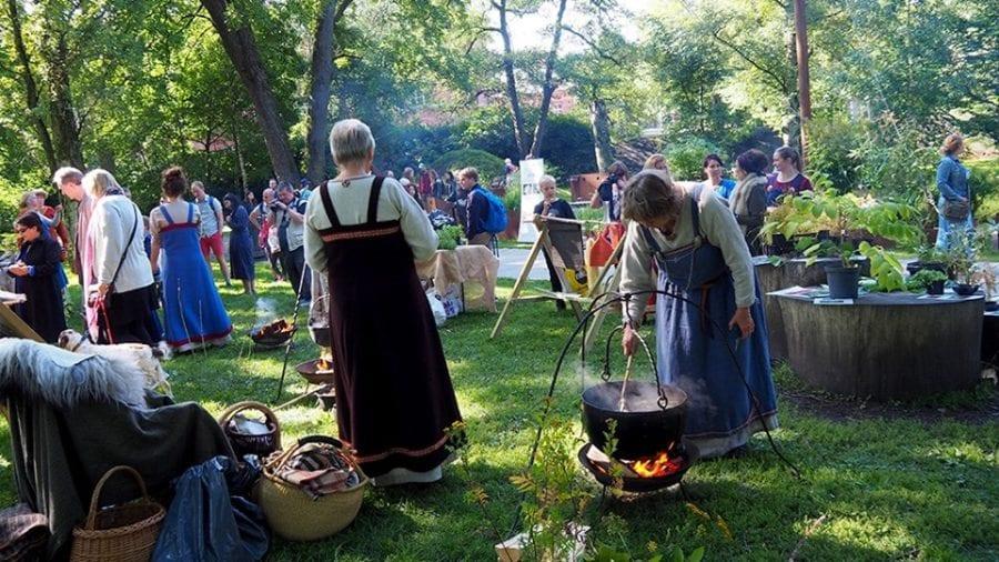 Eventbilde: Vikingdag i Botanisk hage