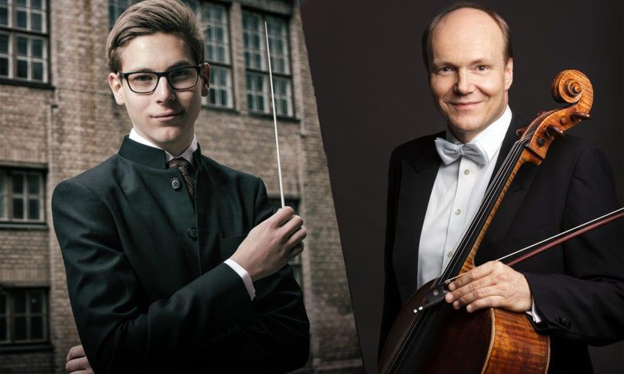 Truls Mørk og Klaus Mäkelä live fra Berwaldhallen hovedbilde