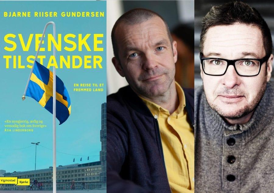 Forfattersamtalen: Bjarne Riiser Gundersen og Kristian Lundberg hovedbilde