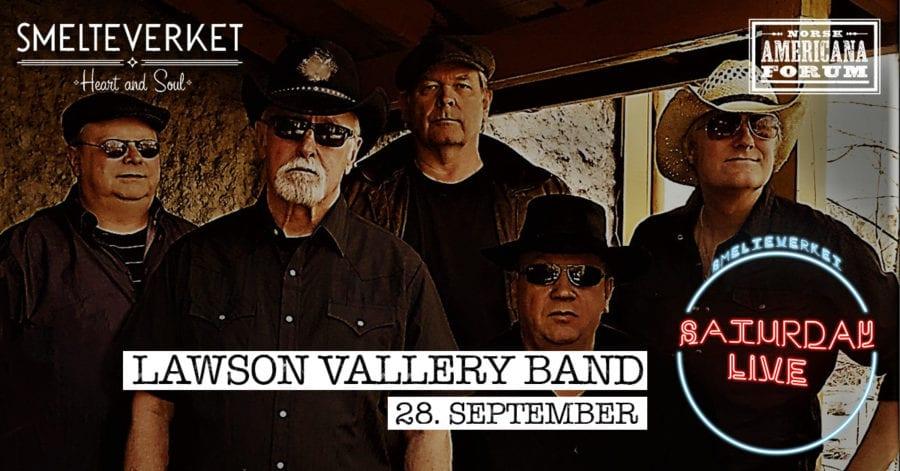 Saturday Live: Lawson Vallery Band / Smelteverket hovedbilde