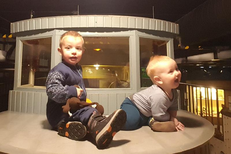 Eventbilde: Babyomvisninger hos Maritimt Museum