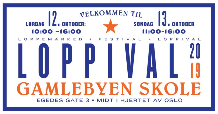 Loppemarked + festival = LOPPIVAL hovedbilde