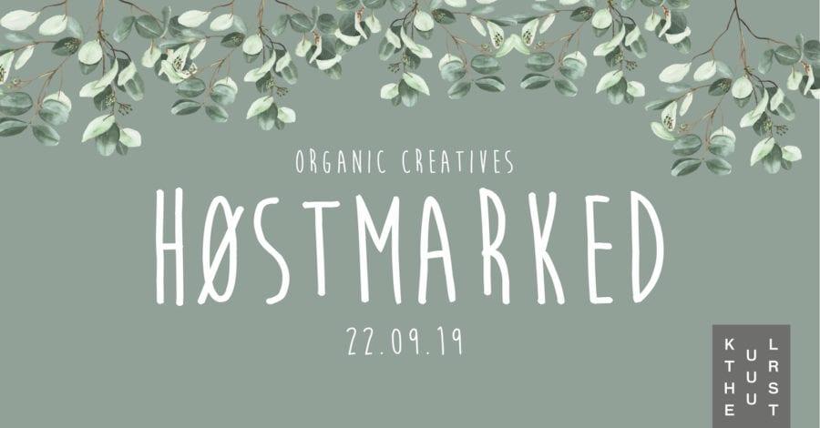 Organic Creatives Høstmarked på Kulturhuset hovedbilde