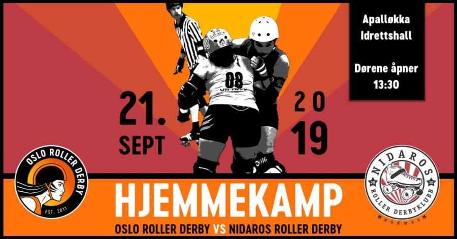 Eventbilde: Oslo Roller Derby vs Nidaros Roller Derby
