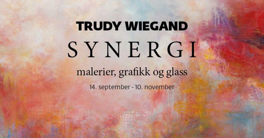 Trudy Wiegand i Galleri 1 på Hadeland Glassverk hovedbilde
