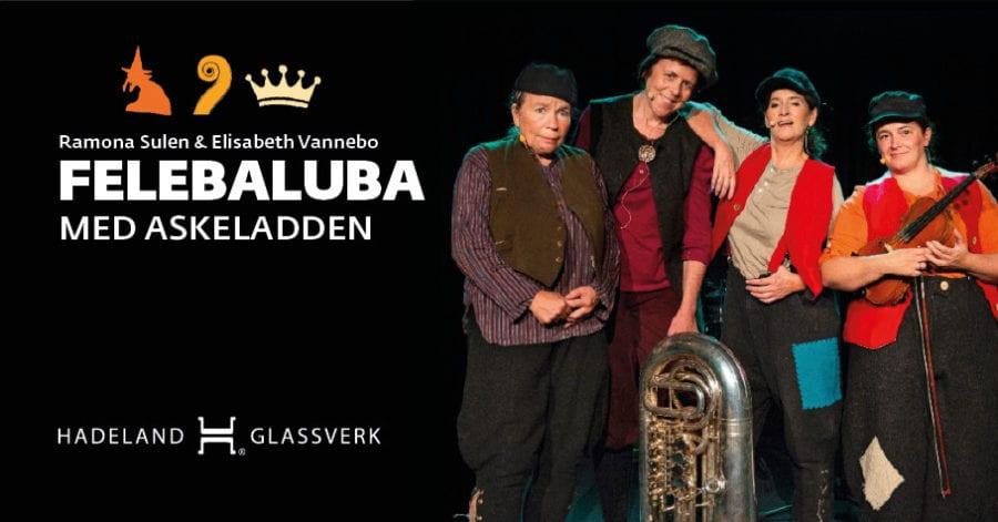 Felebaluba med Askeladden på Hadeland Glassverk hovedbilde