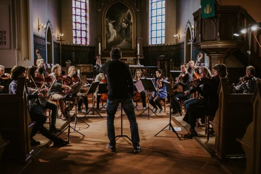 Telemark Kammerorkester til Sentralen hovedbilde