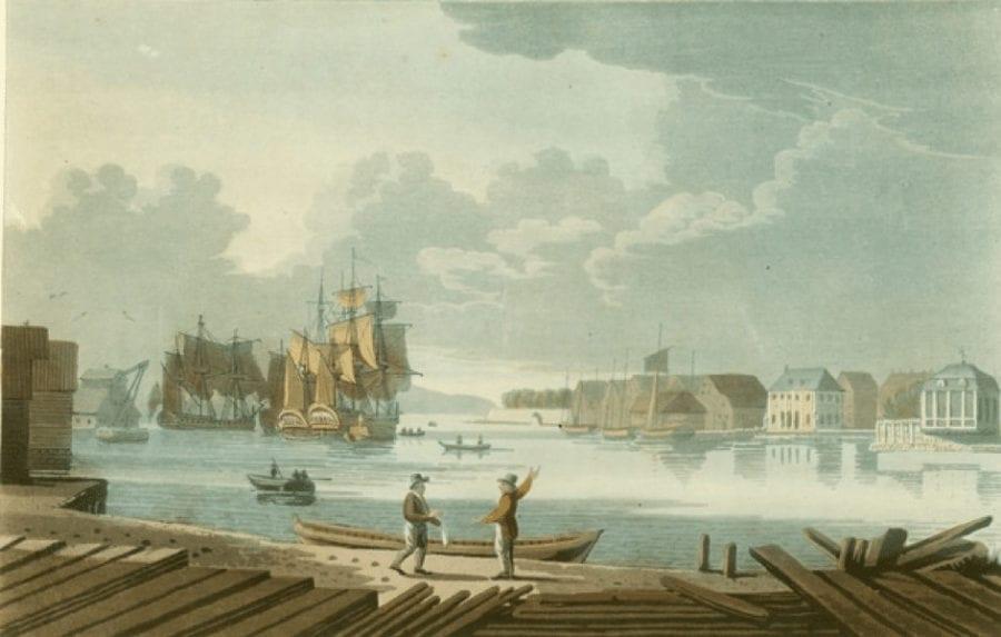 Oslo havn 1798 – med VR-briller hovedbilde