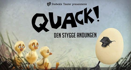 Quack – Den stygge andungen hovedbilde