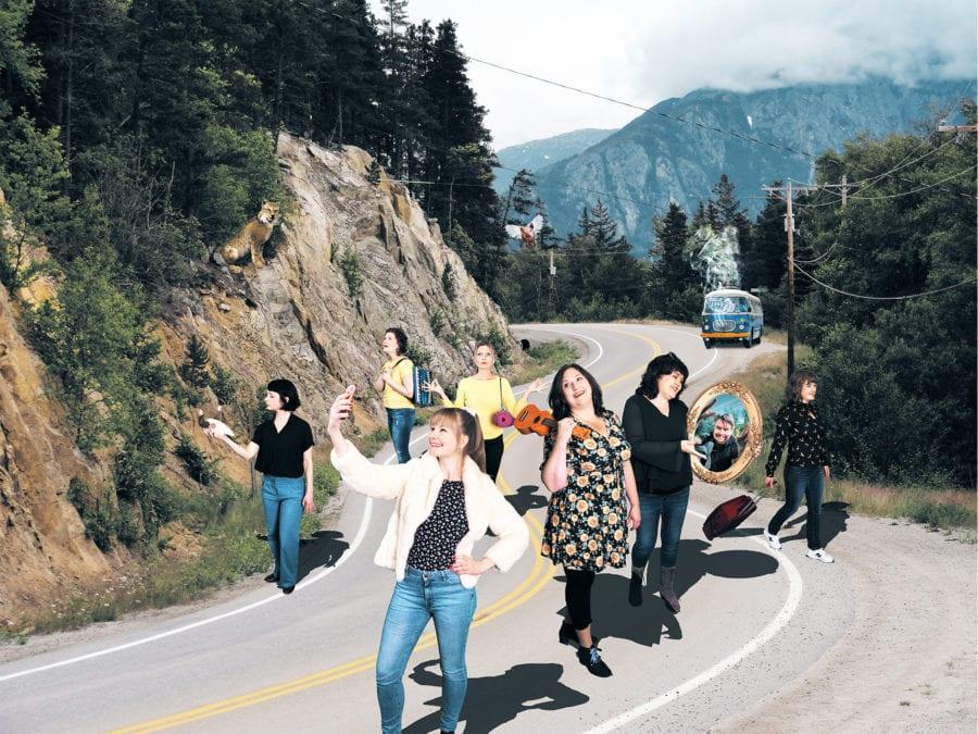 Stilett synger Rikets tilstand – flerstemt hovedbilde
