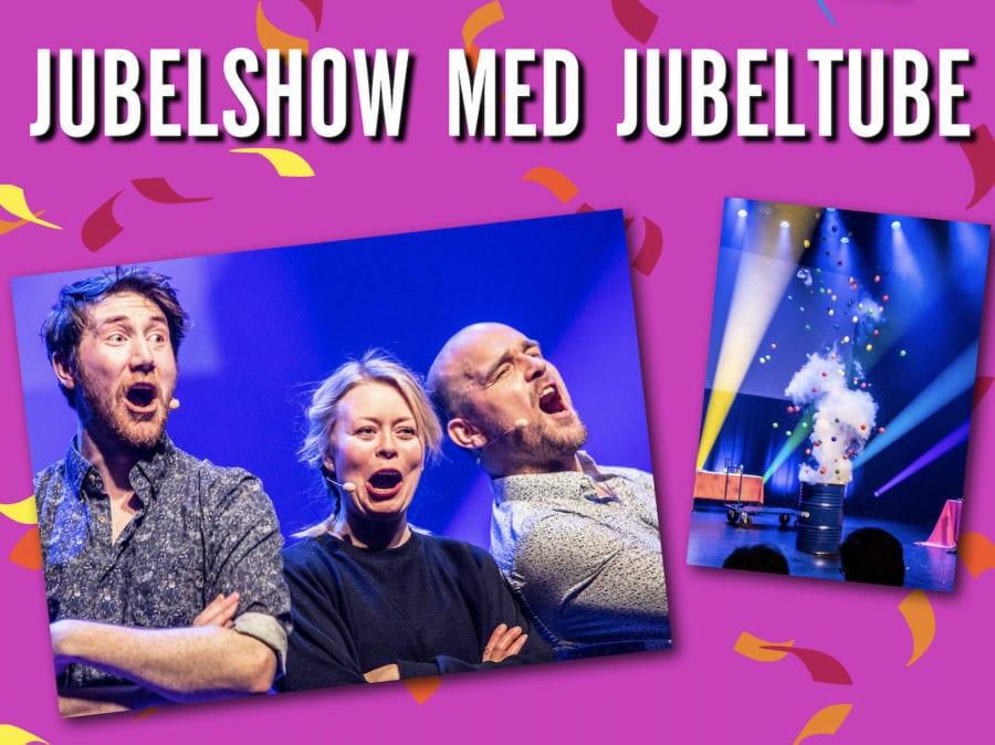 Barnas kulturbryggeri: Jubelshow med Jubeltube hovedbilde