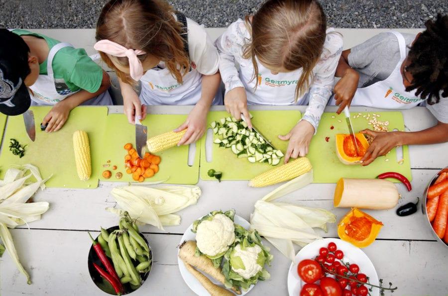 Åpen gård – Barnas store restefest! hovedbilde