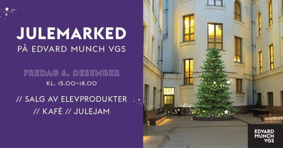 Julemarked på Edvard Munch vgs hovedbilde