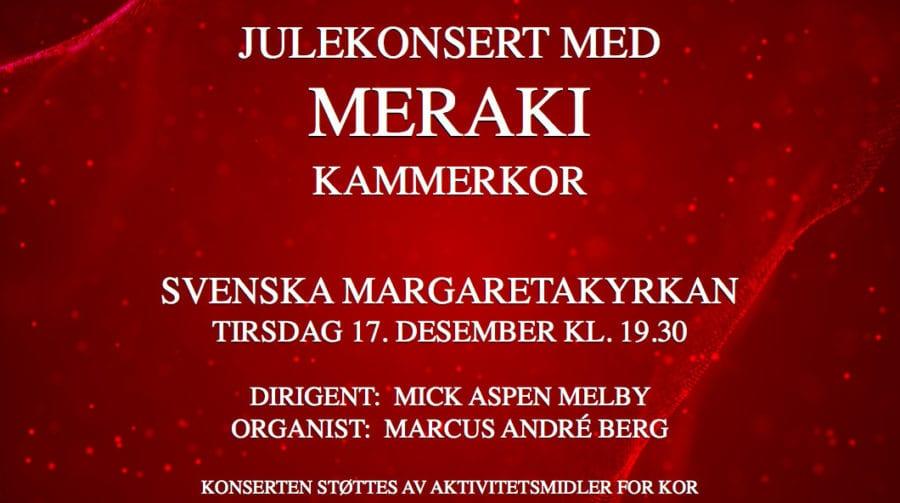 Julekonsert med Meraki Kammerkor hovedbilde