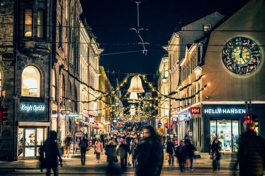 Julegateåpning i sentrum hovedbilde