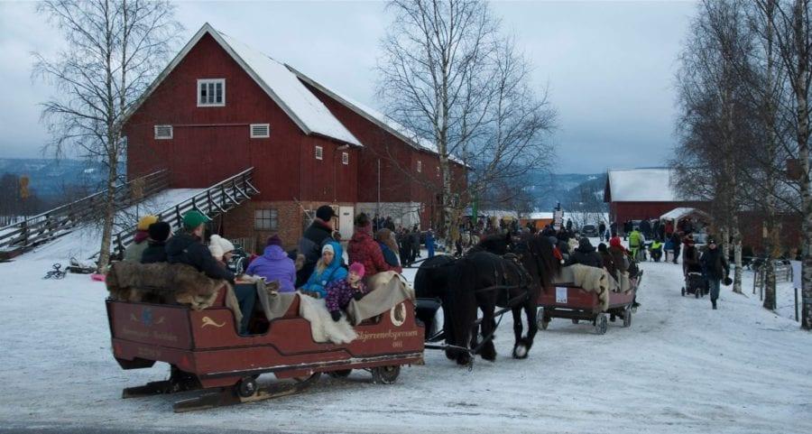 Julemarked på Skjerven Gård hovedbilde