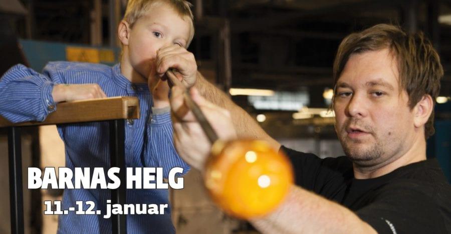 Barnas Helg på Hadeland Glassverk hovedbilde