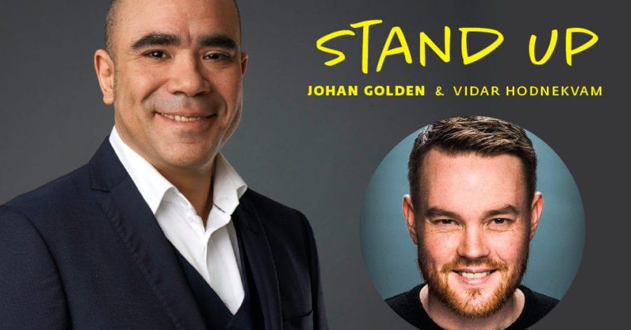 Stand up med Johan Golden på Hadeland Glassverk hovedbilde