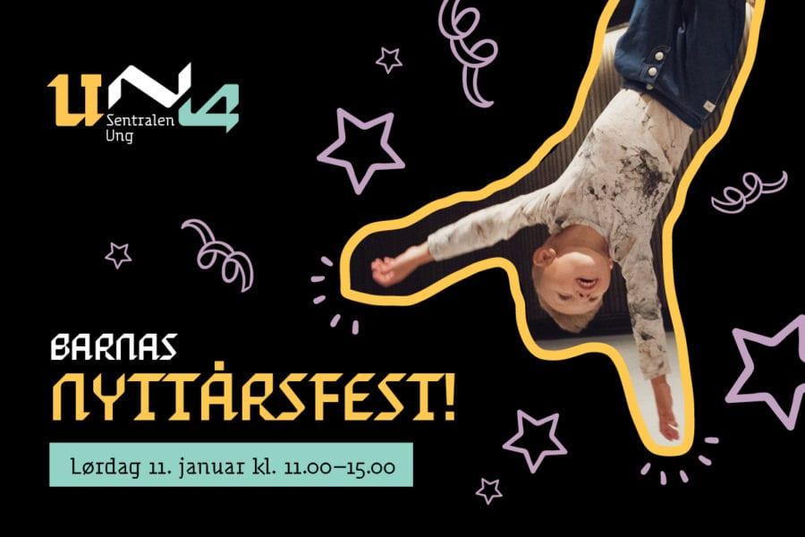 Barnas Nyttårsfest på Sentralen! hovedbilde