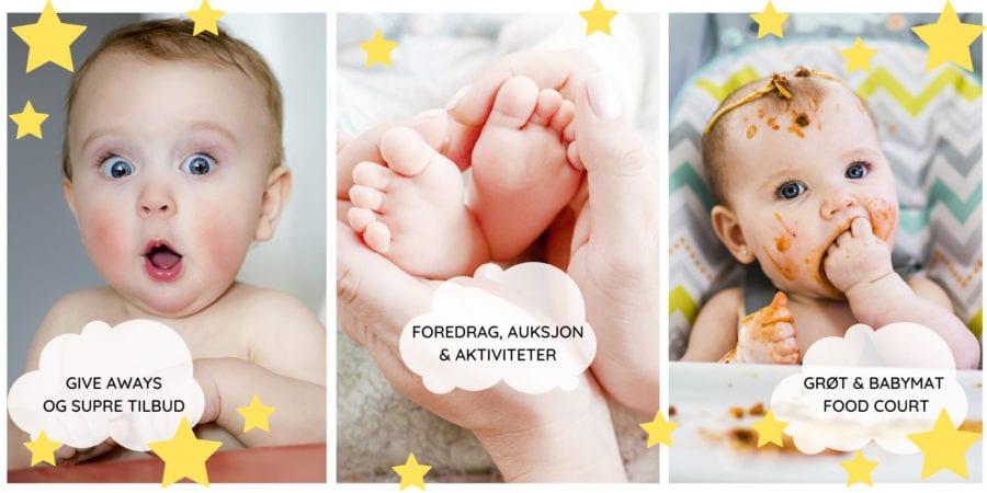 Årets søteste arrangement – Babymessen 2020 hovedbilde