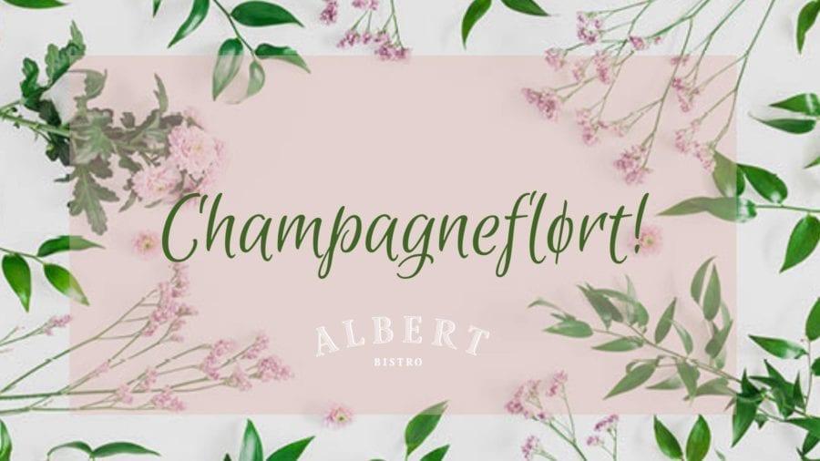 Champagneflørt på Albert! hovedbilde