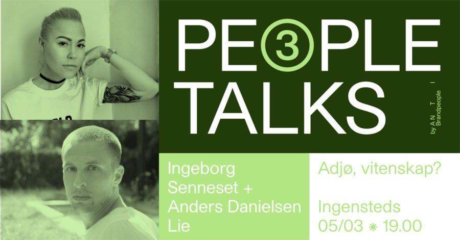 People Talks: Adjø, vitenskap? hovedbilde