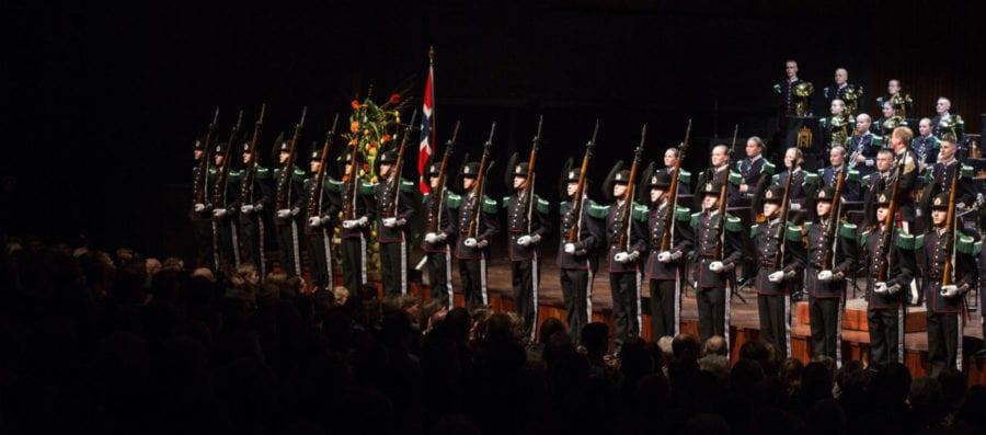 H.M: Kongens Gardes Festkonsert hovedbilde