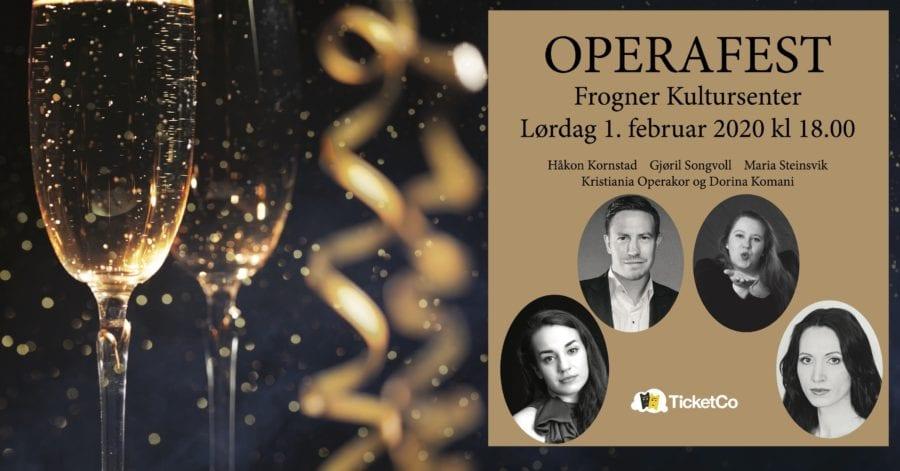 Operafest på Frogner kultursenter hovedbilde
