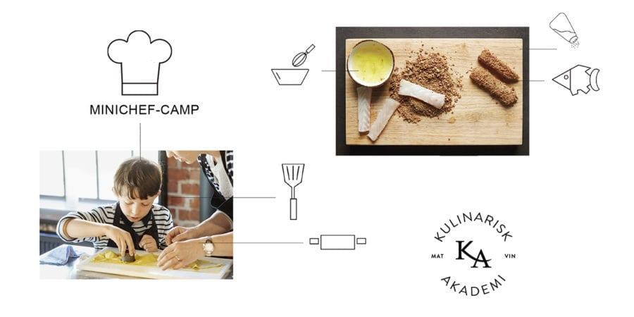Minichef Camp – Kulinarisk Akademi hovedbilde