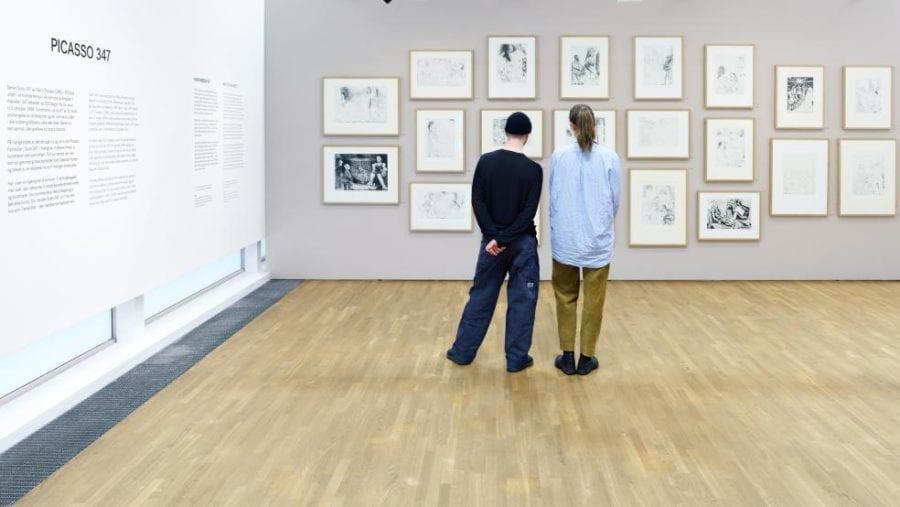 Eventbilde: Picasso 347 på Henie Onstad Kunstsenter