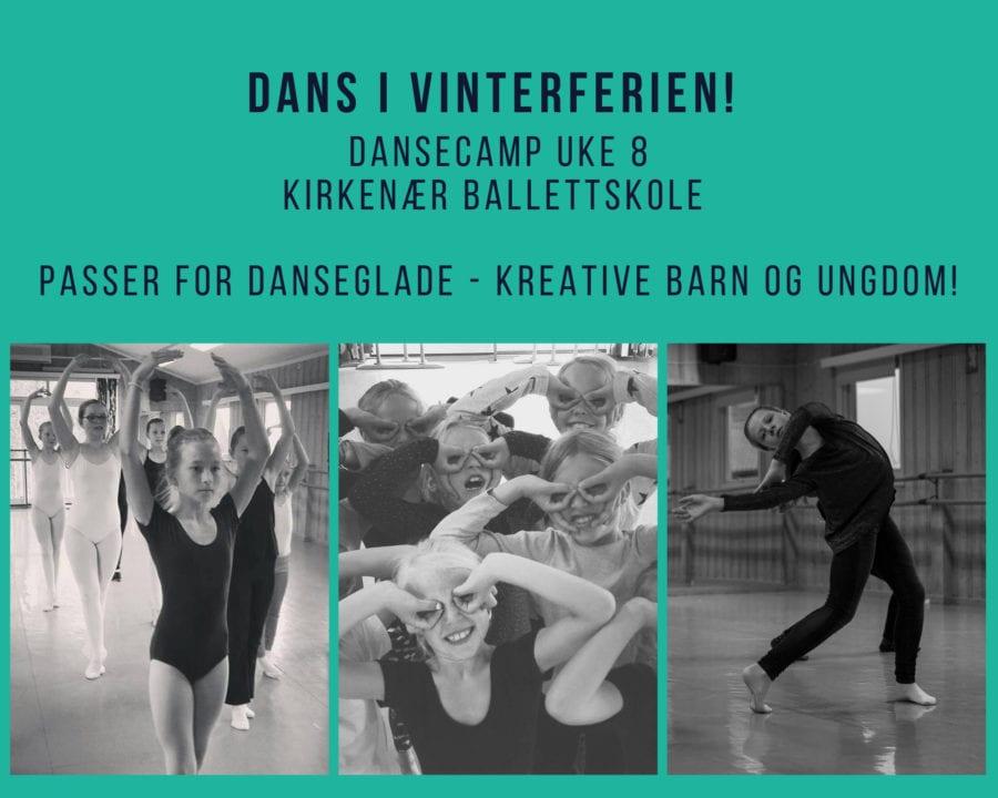 VinterferieCamp ved Kirkenær Ballettskole hovedbilde