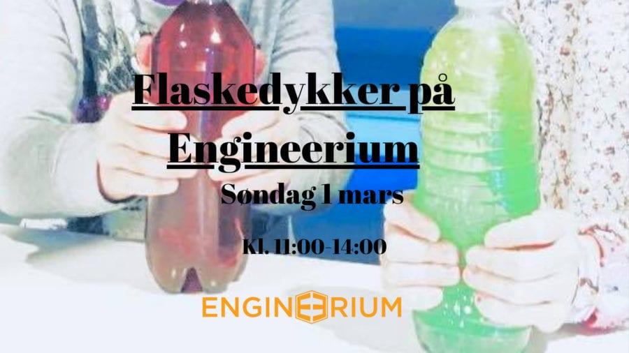 Flaskedykker på Engineerium hovedbilde